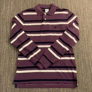 Brooks brother slim fit long sleeve polo M